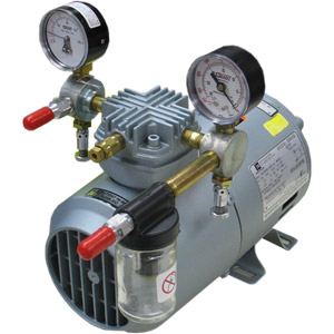 gast 1hab25m100x air compressor and vacuum pump price 650