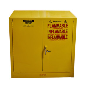 #1766 JustRite 25330 Flammable Liquid Storage Cabinet